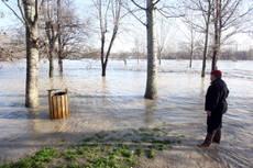 Esodo sotto la pioggia, preoccupa livello fiumi