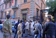 Parcel bombs explode at two Rome embassies