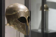 Ancient helmets spotlighted in Ragusa