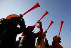 'Vuvuzela-maddened' man rams bar with car