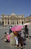 Vatican City bars scantily clad