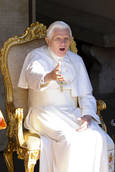 Pope says can't wait for UK trip