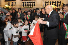 Napolitano opens festivities for 150 years of Italian unity