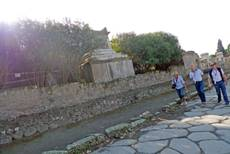 New collapse reported at Pompeii after EU talks