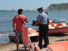 Two kilos of marijuana found on Taranto area beach