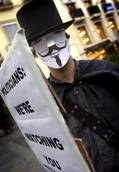 Anonymous brings down Vatican website