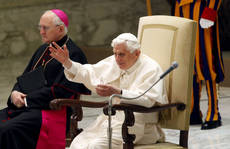 Vatican: pope slams 'narcotics' agst spiritual restlessness