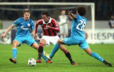 Soccer: Milan are 'coming back' after Zenit win