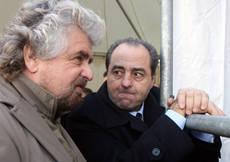 Di Pietro,Grillo?Stima reciproca