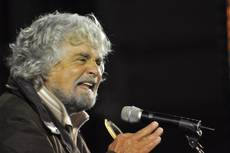 Grillo ramps up call for referendum on euro, EU membership