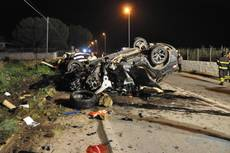 17 die in car accidents throughout Italy over the holidays