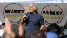 Grillo likens Renzi to Al Capone at Valentine's Day Massacre