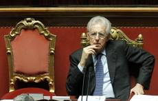 Monti defends record after Berlusconi says Italy near abyss