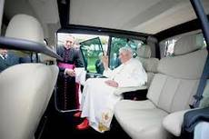 Benedict XVI takes delivery of new popemobiles