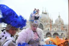 Carnevale Venezia 23 mila a San Marco