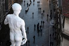 Giant David, Venus de Milo statues raise eyebrows in Japan