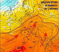 iLMeteo.it: anticiclone africano nel week end