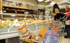 Inflation 'trolley' up to 1.3% in December