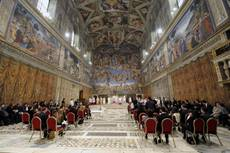 Sistine Chapel has power to 'move souls'
