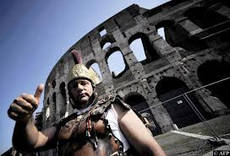 Rome culture chief denies latest Colosseum 'collapse'