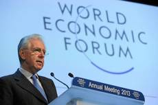 Davos judges Italy positively this year, Monti says