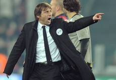 Soccer: Conte gets two-match ban for insulting officials