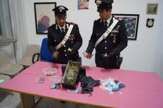 Market droga in casa, arrestati coniugi