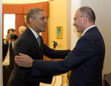 Obama calls Letta to compliment for international work