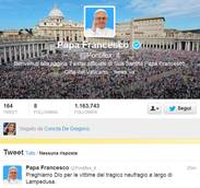 Pope Francis's Twitter following reaches nearly 10 million