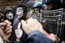 Corteo Roma, denunciati 8 manifestanti