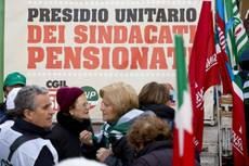 Over 42% of Italian pensioners on less than 1,000 euros