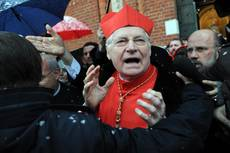Cardinal Scola says pope's decision for good of Church