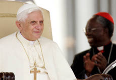 Bookies say age of African pope may have arrived