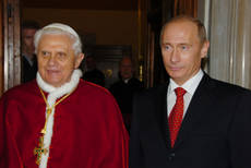 Russia commends pope for inter-religious dialogue