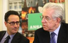 Monti denies opening up to left-wing SEL