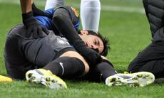 Soccer: Milito season over with knee injury