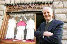New pope will step into ready-made togs