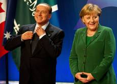 Berlusconi says Merkel 'East German bureaucrat'