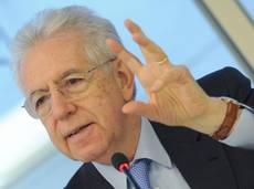 Monti says Merkel not interfering in Italian campaign