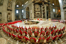 Vatican preparing Sistine Chapel for upcoming conclave