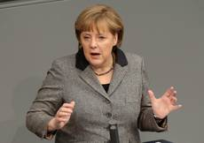 Merkel 'has faith' in Italy's political parties
