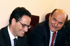 Bersani says deficit better but economy worse