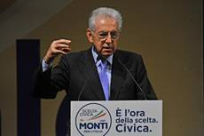 Italians must return to the forefront, says Monti