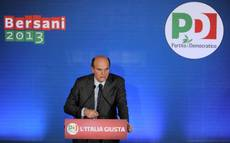 Bersani says govt with centre-right 'not practicable'