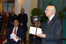 Italy not without a government, says Napolitano