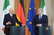 German President sees no risk of Italy 'contagion'