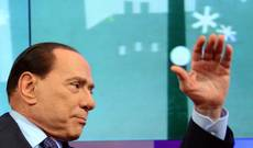 Berlusconi says center-left parties fear being overtaken