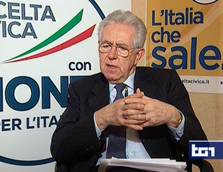 Monti says ready to ally with centre left for reform