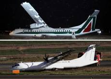 Alitalia refutes fraud query after runway skid in Rome