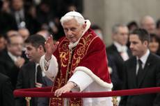 Pope quitting 'for good of Church'